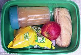 school packed lunch
