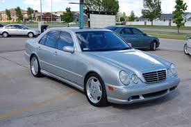 mercedes e class 2002