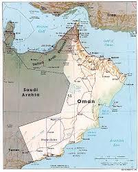 maps of oman