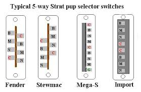 5 way guitar switch