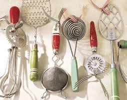 antique kitchen utensils