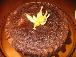 bolo de chocolate humido
