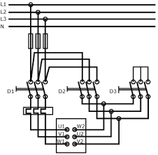 star delta motor connections