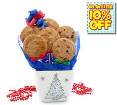 christmas cookie bouquets