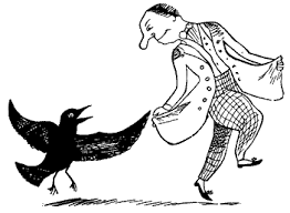 cartoon ravens