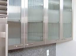 glass kitchen cabinet