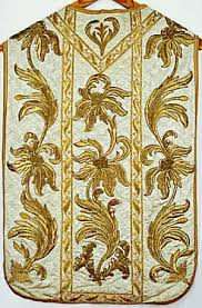 gold embroidered