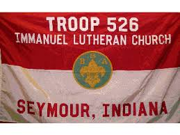 boy scout troop flag