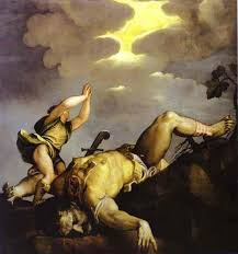 david and goliath art