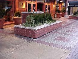 brick planter box