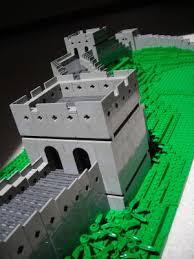 great wall of china model