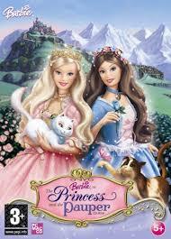 barbie as princess and the pauper
