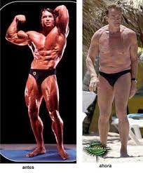 fotos de famosos antes y despues