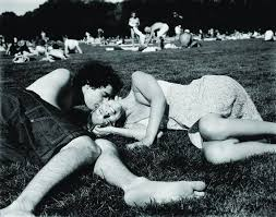black and white photography of love