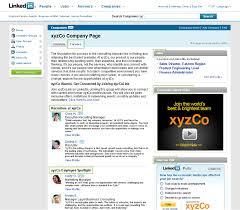 company profile examples