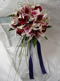 stargazer lily wedding flowers
