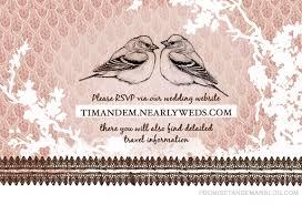 creative wedding invite