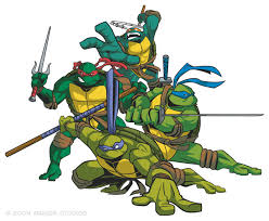 caricaturas de tortugas