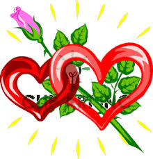linked hearts clipart