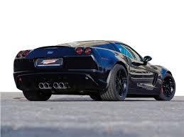 black corvette zo6