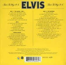 Elvis Presley - That's The Way It Is (disc 1)