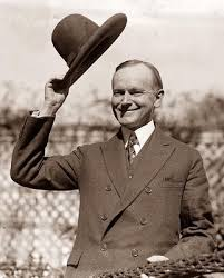 calvin coolidge childhood