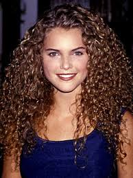 different hair curls