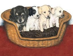 puppies art