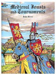 medieval coloring books