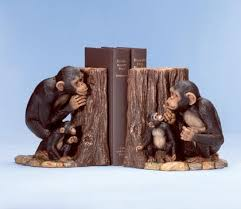 monkey bookend