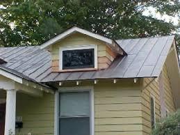 metal roof details