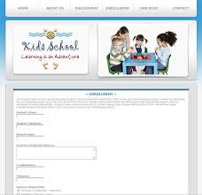 enrollment form template