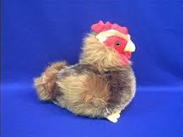 chicken stuffed toy