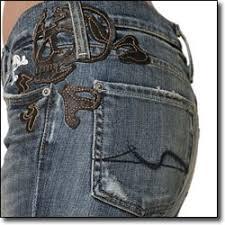 embellished jean