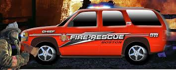 fire vehicle graphics