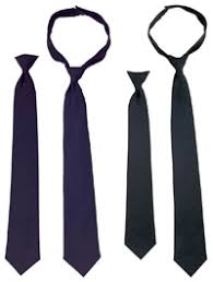 clip on neckties