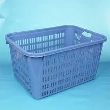 plastic clothes basket