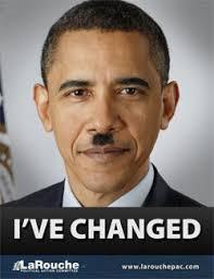 obama hitler poster
