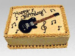 birthday guitar