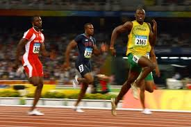 100m sprinters