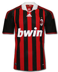 new ac milan shirt 09 10