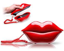 phone kiss