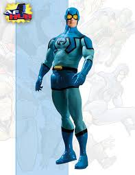 blue beetle action figures