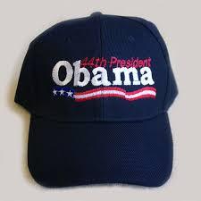 obama baseball hats