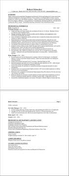 sample resume form