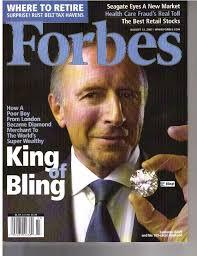 Graff in Forbes Magazine