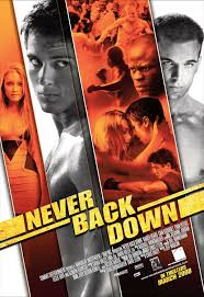 Never Back Down Movieposter