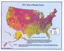 radon map