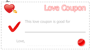 blank coupon template