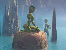alien females